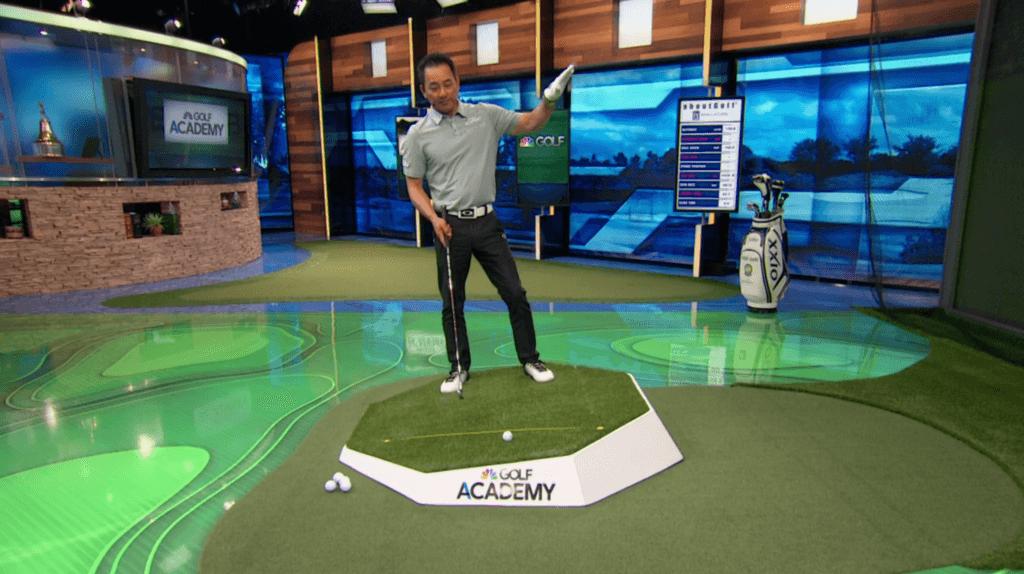 Golf - Chang - Uphill Lie