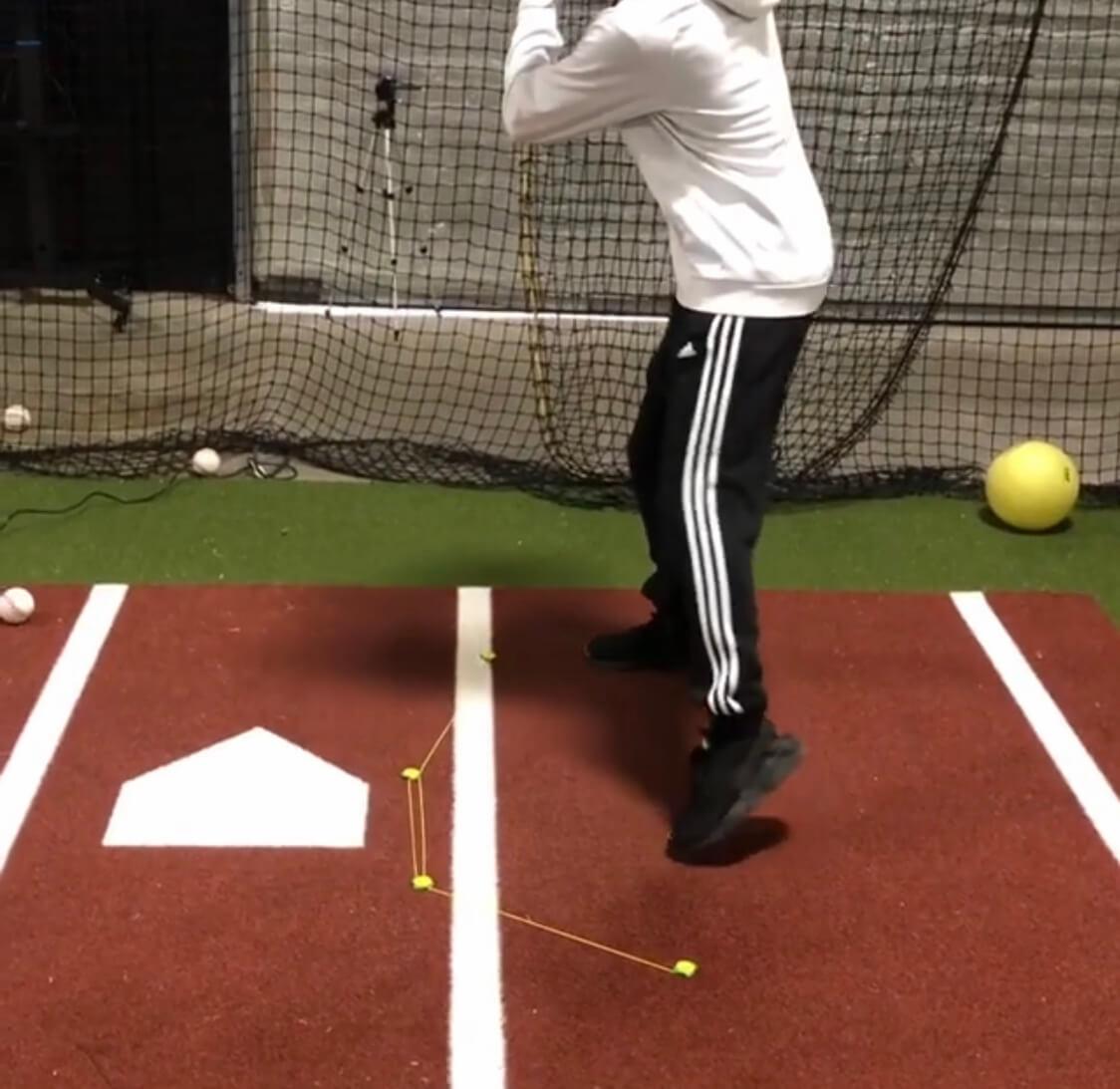 baseball with tee claw